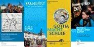 Barockfest - Stiftung Schloss Friedenstein