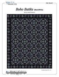 View / Download Boho Batiks (Black/White)