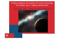 Finding exoplanets with leading 19th century technology: the ...