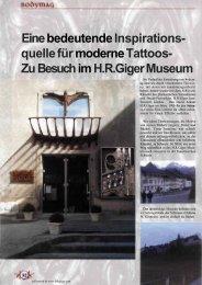 Eine bedeutende Inspirationsquelle für moderne Tattoos / Interview