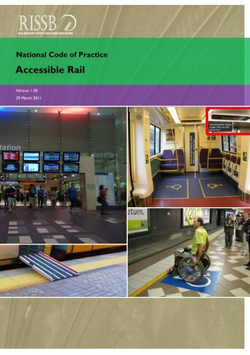 Accessible Rail Services: Code of Practice