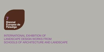 international exhibition of landscape design works from ... - mastercas