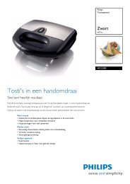 HD2383/20 Philips Tostiapparaat