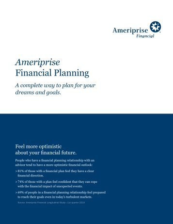 Ameriprise Financial Planning