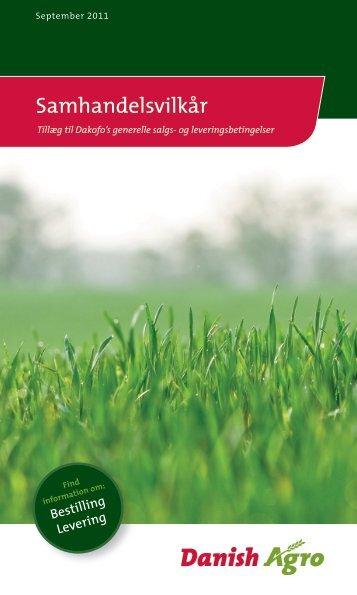 Samhandelsvilkår - Danish Agro