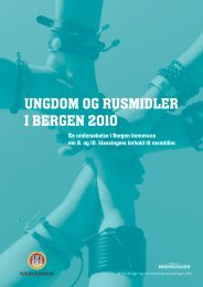 Ungdom og rusmidler - KoRus Bergen
