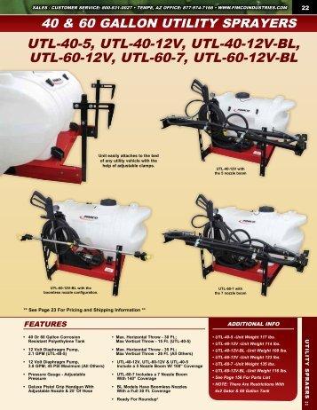 Utility Sprayers - FIMCO Industries