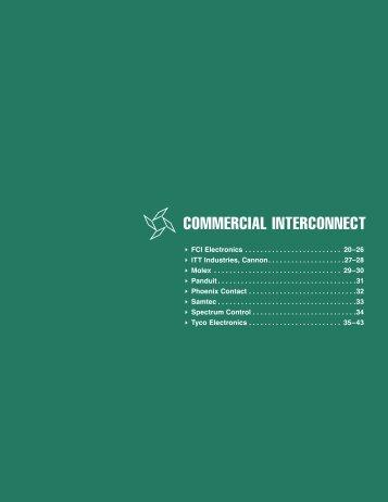 COMMERCIAL INTERCONNECT - Arrow Electronics