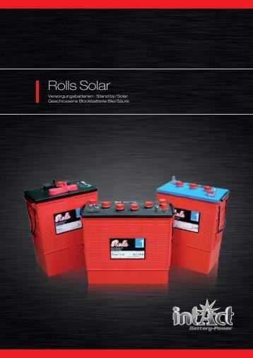 Rolls Solar