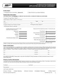2011 bryant factory authorized dealer application and dealer…