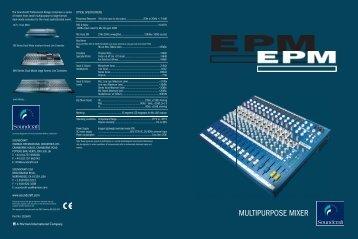 EPM-Series Brochure - Full Compass