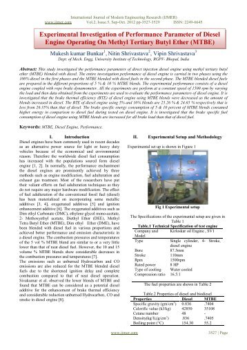 study on performance of diesel engine Information engineering for mechanics and materials: study on effect of electronically controlled egr system on diesel engine performance.
