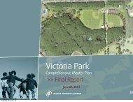 VictoriaParkFina l CouncilPresentat ion.pdf - City of Charlottetown