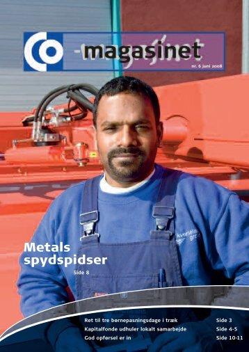 Metals spydspidser - CO-industri