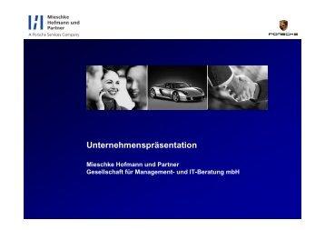 Unser Fokus – Ihr Nutzen - Mieschke Hofmann und Partner