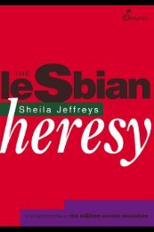 The Lesbian Heresey, by:Sheila Jeffreys - Feminish