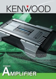 Open PDF (707 KB) - Kenwood