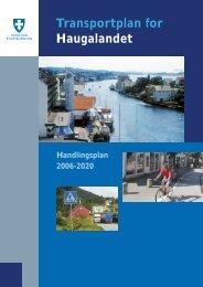 Transportplan for Haugalandet - Statens vegvesen