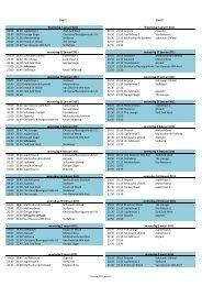 Schema competitie 2011 - ZieZaVo