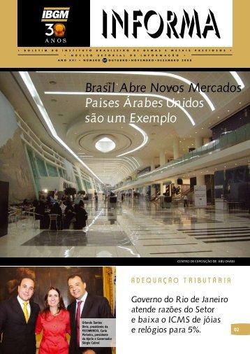 Brasil Abre Novos mercados Paises Árabes Unidos são ... - InfoJoia