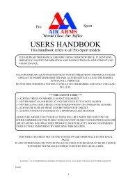 pro sport manual iss2.p65 - Field Target