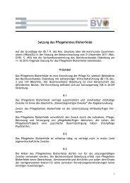 Satzung des Pflegeheimes Bloherfelde-Stand 2012
