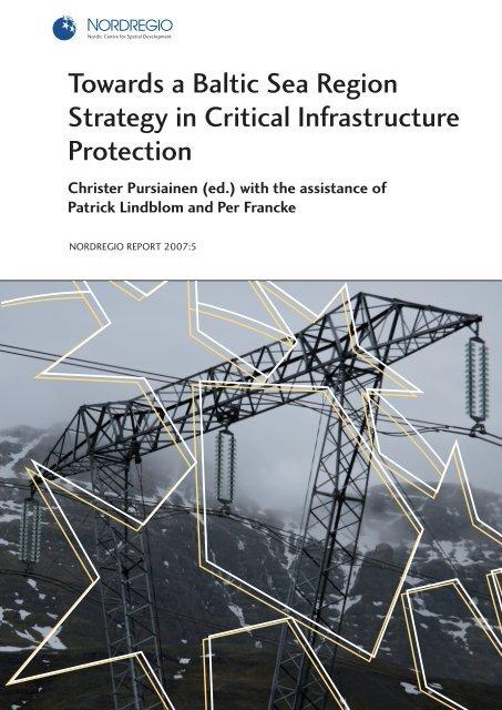 Towards A Baltic Sea Region Strategy In Critical Helsinki Fi