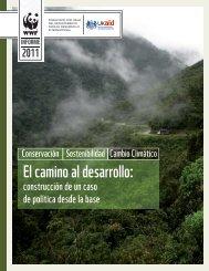 El camino al desarrollo: - WWF UK