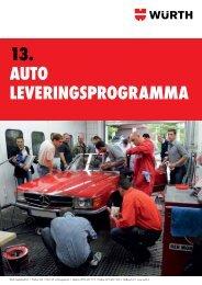 13. Auto leveringsprogrAmmA - Würth Nederland