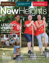 LENDING A HAND - Youth Villages