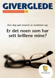 GIVERGLEDE - Norges Blindeforbund