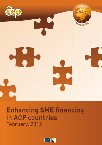 Enhancing SME financing in ACP countries - ACP Business Climate
