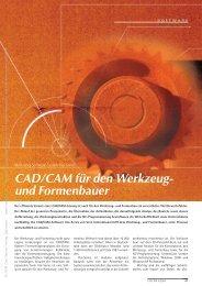 CAD/CAM für den Werkzeug- und Formenbauer (286 KB) - Automation