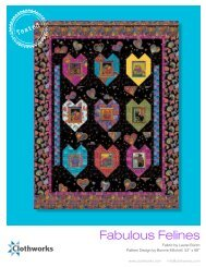to download the 'Fabulous Felines' - Stitch-N-Frame