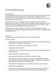 Læs stillingsbeskrivelse for den nye sekretariatsleder her