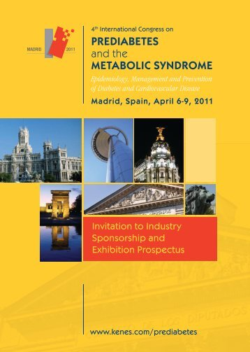 PREDIABETES and the METABOLIC SYNDROME - Kenes