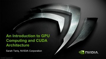 Introduction to CUDA C/C++