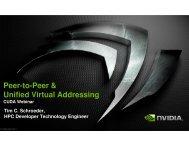 P2P & UVA - GPU Technology Conference