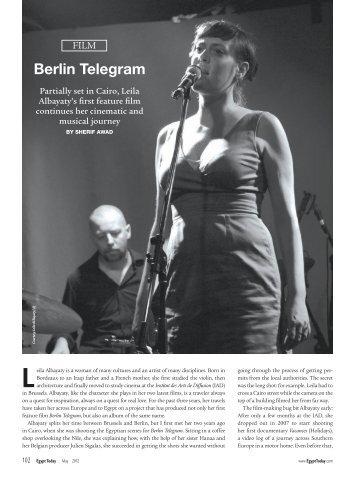 Berlin Telegram - Leila Albayaty