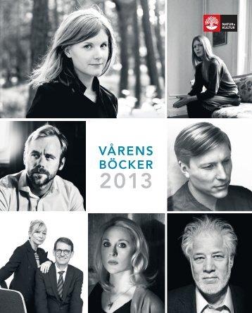 NoK Varens Bocker 2013 VÅRENS - BÖCK ER ... - Natur och Kultur