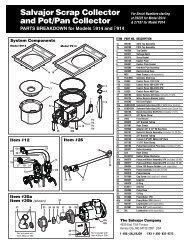 Salvajor 980059 Separator Assembly