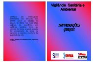 Vigilância Sanitária e Ambiental: Informações Gerais