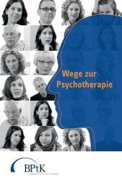 Wege zur Psychotherapie - Bundespsychotherapeutenkammer