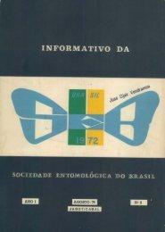 1976 - Sociedade Entomológica do Brasil