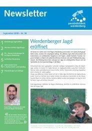 September 2008 - Region Werdenberg