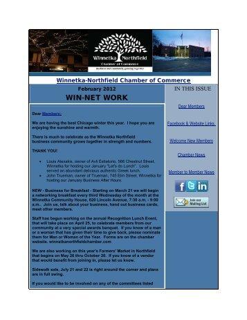 February 2012 - Winnetka Northfield Chamber of Commerce