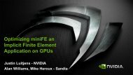 Accelerating miniFE: A Finite Element Mini-Application on GPUs