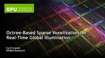 Octree-Based Sparse Voxelization for Real-Time Global Illumination