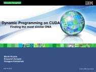 Dynamic Programming on CUDA: Finding the Most Similar DNA ...