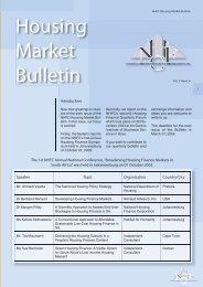 Housing Market Bulletin Vol. 2 Issue 6 - National Housing Finance ...